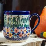 Kubek z ceramiki ręcznie malowany Ceramika Artystyczna Woźniak w sklepie internetowym Uroda stolu