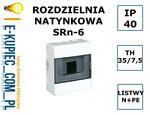 SKRZYNKA ROZDZIELNIA ROZDZIELNICA SRn-6 N/T IP40 w sklepie internetowym E-kupiec.com.pl