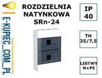 SKRZYNKA ROZDZIELNIA ROZDZIELNICA SRn-24 N/T IP40 w sklepie internetowym E-kupiec.com.pl