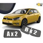Zasłonki / roletki / osłony przeciwsłoneczne dedykowane do VW Volkswagen Golf 7 (Zasłonki drzwi i klapy) (2012-2019) w sklepie internetowym Autozaslonki.com