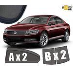 Zasłonki / roletki / osłony przeciwsłoneczne dedykowane do VW Volkswagen Passat B8 Sedan + zasłonki tylnej szyby 2014- w sklepie internetowym Autozaslonki.com