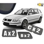 Zasłonki / roletki / osłony przeciwsłoneczne dedykowane do Volkswagen Passat B5 Kombi (1996-2005) w sklepie internetowym Autozaslonki.com