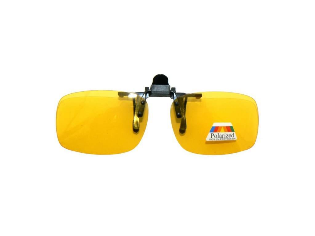 81c69f6d02ce NAKŁADKI POLARYZACYJNE NA OKULARY   ŻÓŁTE ROZJAŚNIAJĄCE Nakładki  polaryzacyjne na okulary korekcyjne - zolte rozjasniajace w. Powiększ  zdjęcie