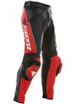 Spodnie skórzane Dainese P. DELTA PRO C2 PELLE - Nero/Rosso w sklepie internetowym Defender.net.pl