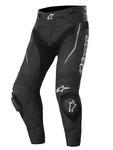 Motocyklowe Spodnie skórzane Alpinestars Track - czarny w sklepie internetowym Defender.net.pl