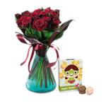 Czekoladki: Różane życzenia i Super Mom w sklepie internetowym Chocolissimo.pl
