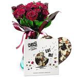 Czekoladki: Różane życzenia i czekolada w sklepie internetowym Chocolissimo.pl