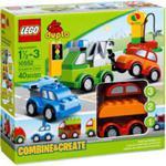 LEGO DUPLO 10552 Kreatywne auta w sklepie internetowym MojeKlocki24.pl