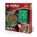 LEGO LGL-NI4L Lampka klocek Ninjago Lloyd + naklejka w sklepie internetowym MojeKlocki24.pl