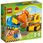 LEGO DUPLO 10812 Ciężarówka i koparka gąsienicowa w sklepie internetowym MojeKlocki24.pl