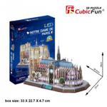 Puzzle 3D Katedra NOTRE DAME LED w sklepie internetowym MojeKlocki24.pl