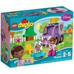 LEGO DUPLO 10605 Klinika dla pluszaków- karetka doktor Dosi w sklepie internetowym MojeKlocki24.pl