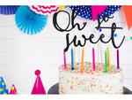 Świeczki urodzinowe Kolorowe - 6 szt. w sklepie internetowym Partyshop Congee.pl