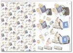 Papier do decoupage 3D Mireille E651 Telefony, telefony, laptopy i cd w sklepie internetowym Serwetnik.pl
