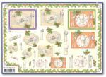 Papier do decoupage 3D Mireille X388 Przy Wigilijnym stole w sklepie internetowym Serwetnik.pl
