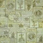 Serwetka do decoupage 2453m Etykietki Vintage - kawa i herbata IHR w sklepie internetowym Serwetnik.pl
