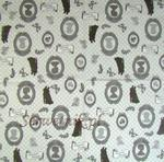 Cameas w tinacji black&grey&white AMB serwetka do decoupage w sklepie internetowym Serwetnik.pl