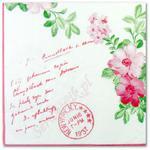 Serwetka do decoupage 3496 Poczta kwiatowa z Nowego Jorku w sklepie internetowym Serwetnik.pl