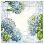 Serwetka do decoupage 3643 Błękitne kwiaty lilaka w sklepie internetowym Serwetnik.pl