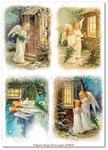 Papier ryżowy do decoupage Aquita AD0059 Skrzydlate anioły w sklepie internetowym Serwetnik.pl