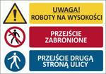 T011 TABLICA BUDOWLANA DUŻA Łączona 70x50cm w sklepie internetowym Sklep-ppoz.pl