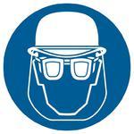 Znak: Nakaz stosowania ochrony głowy i twarzy w sklepie internetowym Sklep-ppoz.pl