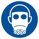 Znak: Nakaz stosowania ochrony dróg oddechowych w sklepie internetowym Sklep-ppoz.pl