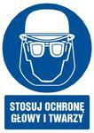Znak: Stosuj ochronę głowy i twarzy w sklepie internetowym Sklep-ppoz.pl