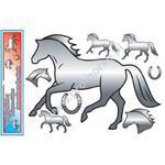 Naklejki z końmi lustrzane HR z końmi w sklepie internetowym Pro-horse