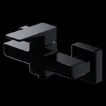 Omnires Parma bateria prysznicowa natynkowa czarny mat PM7440BL w sklepie internetowym 1lazienka.pl